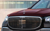Mercedes-Maybach GLS 600 official press images - front grille