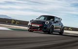 2020 Mini JCW GP first ride - tracking front