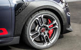 2020 Mini JCW GP first ride - alloy wheels