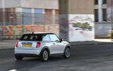 a month with a Mini Electric - tracking rear
