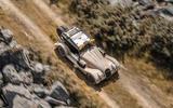 96 Morgan Plus Four CX T official reveal hero aerial