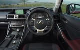 96 nearly new buying guide lexus IS 2021 dashboard