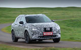 Nissan Qashqai official prototype images - tracking front
