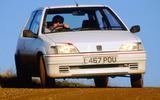 96 Peugeot 106 Rallye UBG 2021 action
