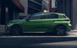 96 Peugeot 308 2021 official reveal images static side