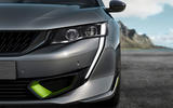 Peugeot 508 PSE official images - headlights