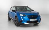 Peugeot e-2008 reveal studio - nose