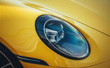 2019 Porsche 911 Carrera S track drive - headlights