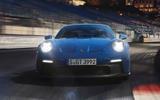 96 Porsche 911 GT3 2021 official images night nose