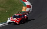 Porsche 911 RSR-19 drive - cornering front