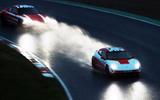 96 Porsche Autocar EV record breakers 2021 spray