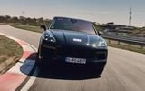 96 Porsche Cayene Turbo Coupe prototype 2022 track nose