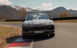 96 Porsche Cayenne GT 2021 official reveal tracking nose