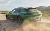 96 Porsche Taycan Cross Turismo official images off road