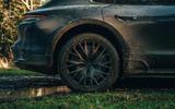 96 Porsche Taycan Cross Turismo prototype drive mud