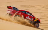 96 Prodrive BRX Dakar rally side