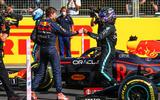 96 Racing Lines Hamilton Verstappen friendly