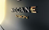 Renault Megane eVision concept official images - rear badge