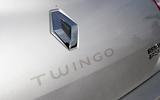 96 Renault Twingo RS UBG 2021 rear badge