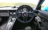 Road test rewind Porsche 911 GT2 RS - cabin