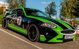 96 Ruppert cars instead of flying Jaguar
