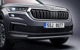 96 Skoda Kodiaq MY2021 facelift official images nose