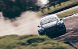 96 STARD ERX rallycross fiesta drive 2021 cornering