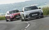 96 super estate triple test 2021 AMG Audi cornering