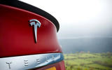 Tesla Model S - car of the decade - rear badge