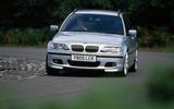 96 ubg bmw E46 3 Series cornering front