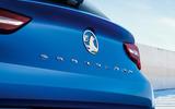 96 Vauxhall Astra 2021 teaser images rear badges
