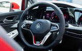 2020 Volkswagen Golf GTI first ride - steering wheel