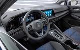 96 Volkswagen Golf R Estate 2021 official reveal steering wheel