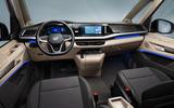96 Volkswagen Multivan T7 2021 official images cabin