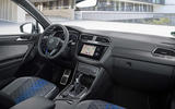 96 Volkswagen Tiguan R 2021 official images cabin