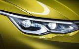 2020 Volkswagen Golf Mk8 official press - headlights