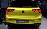 2020 Volkswagen Golf mk8 official reveal - rear end