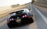 World's fastest production cars - Bugatti Veyron