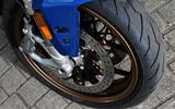 Zero Motorcycles SR/S kerbweight is a fairly hefty 234kg
