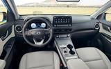 Hyundai Kona Electric MY2020 official - cabin