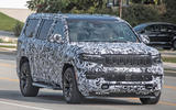 Jeep Grand Wagoneer spy images - nose