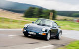 Porsche 911 Turbo 3.6 964 generation - tracking front