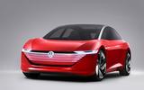 Volkswagen ID Vizzion concept - nose