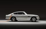 97 Aston Martin DB6 Lunaz EV conversion offical images static rfear
