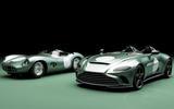 97 Aston Martin V12 Speedster DBR1 spec pair