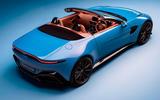 Aston Martin Vantage Roadster 2020 - official press images - top