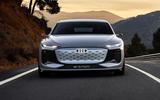 97 Audi A6 E tron Concept official tracking nose