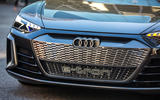 Audi E-tron GT concept 2020 prototype first drive review - front grille