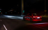 Audi E-tron Sportback prototype matrix headlights - on the road