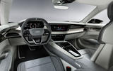 Auto E-tron GT concept official press reveal - cabin